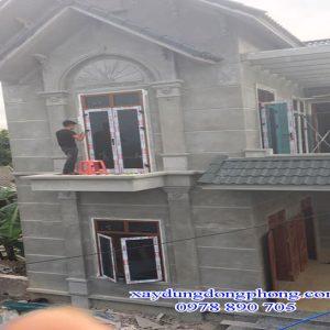 Cửa Nhôm Xingfa Màu Vân Gỗ Nhập Khẩu