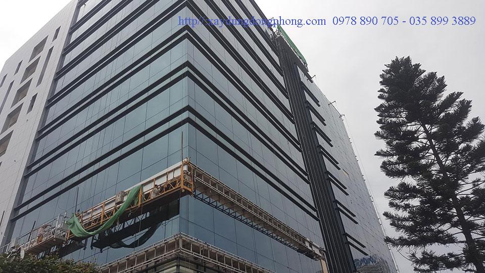 Công trình sử dụng vách mặt dựng Giấu Đố Nhôm Xingfa Nhập khẩu hệ 65x100