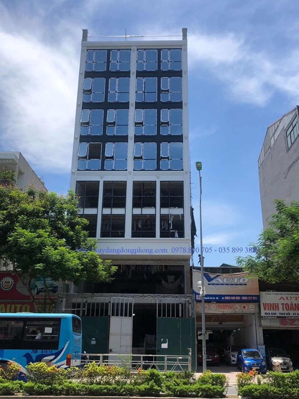 Tòa nhà Văn Phòng tại Trung Hòa- Cầu Giấy